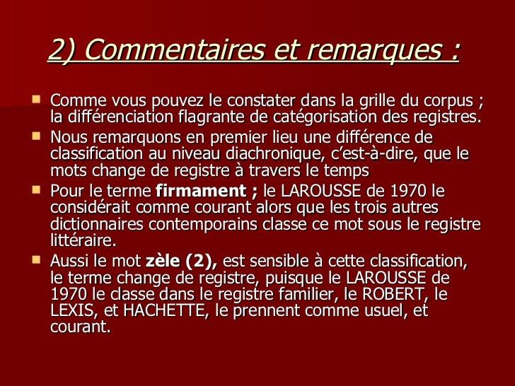 registres de langue  dans les dictionnaires
