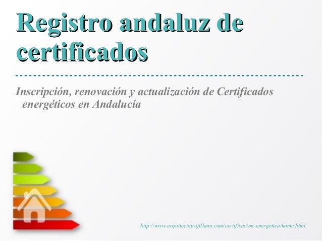 Eficiencia energética en Andalucía