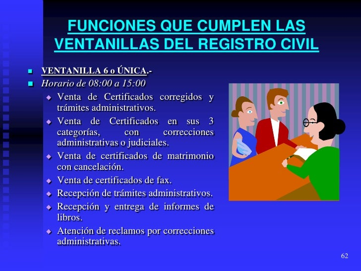 Registro civil - Tramites para casarse por lo civil ...