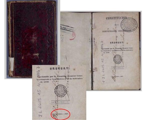 Montevideo, 17 de noviembre de 2011 Lo nuevo de la Biblioteca Nacional: La Biblioteca Nacional de Uruguay tiene el agrado ...