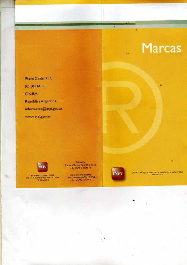 Registro de marcas547
