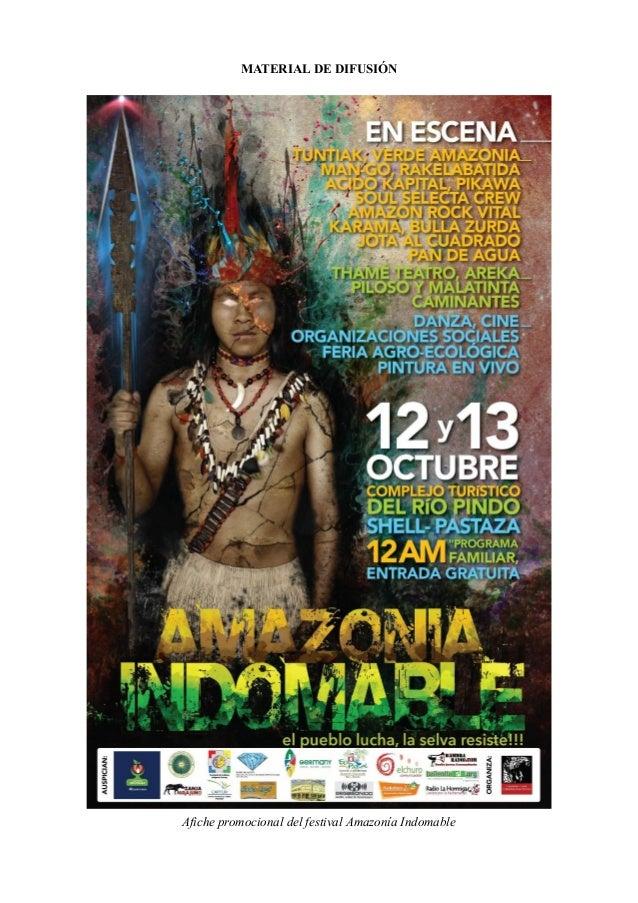 Registro fotogratico amazonia indomable 2010 2012 Slide 2