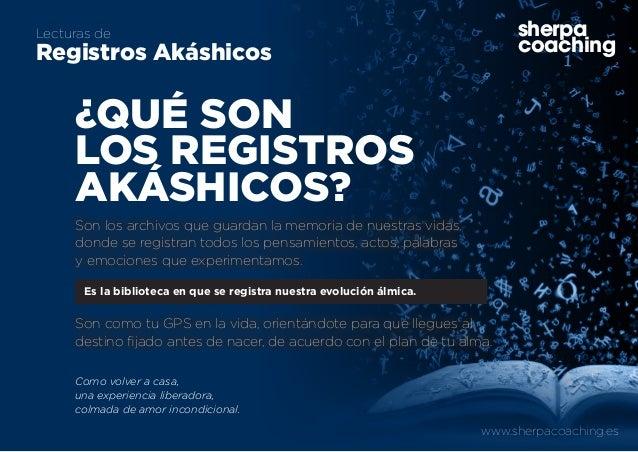 www.sherpacoaching.es sherpa coaching Lecturas de Registros Akáshicos sherpa coaching Es la biblioteca en que se registra ...