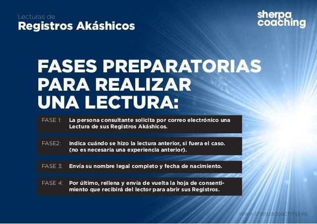 www.sherpacoaching.es sherpa coaching Lecturas de Registros Akáshicos sherpa coaching FASE 1:  La persona consultante sol...