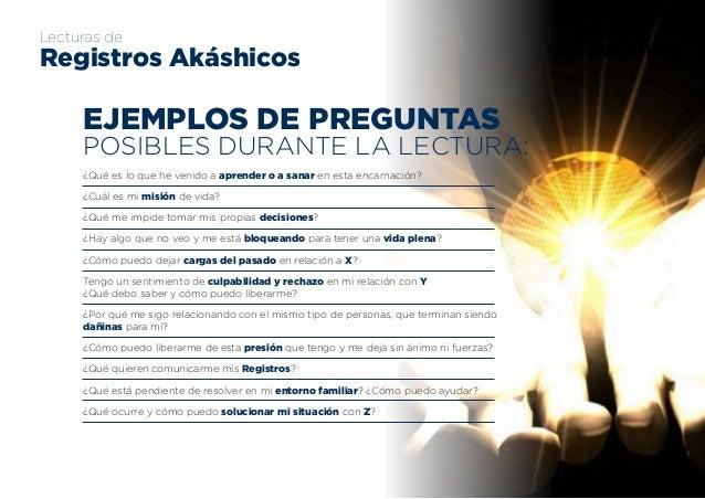 www.sherpacoaching.es sherpa coaching Lecturas de Registros Akáshicos EJEMPLOS DE PREGUNTAS POSIBLES DURANTE LA LECTURA: ¿...