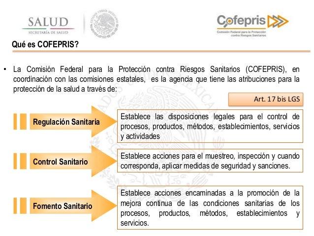 Registro sanitario- Cofepris