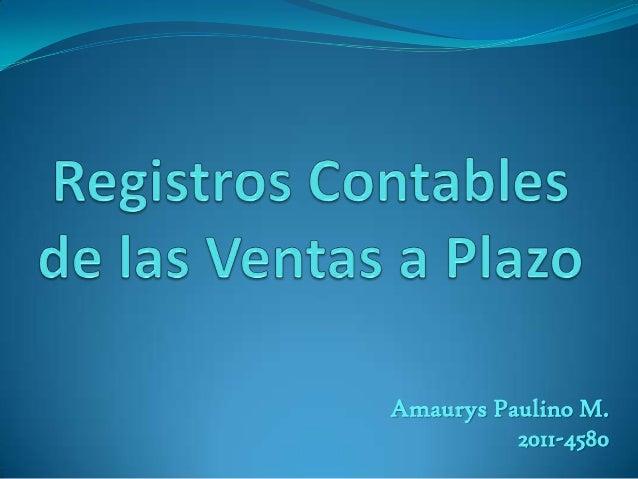 Amaurys Paulino M.          2011-4580