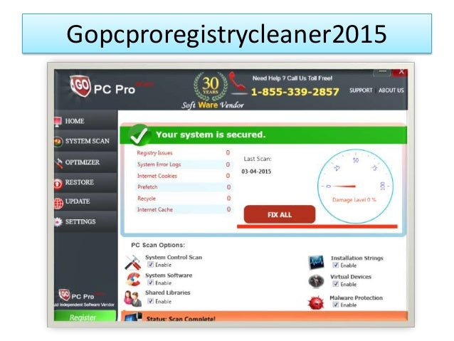 Gopcproregistrycleaner2015