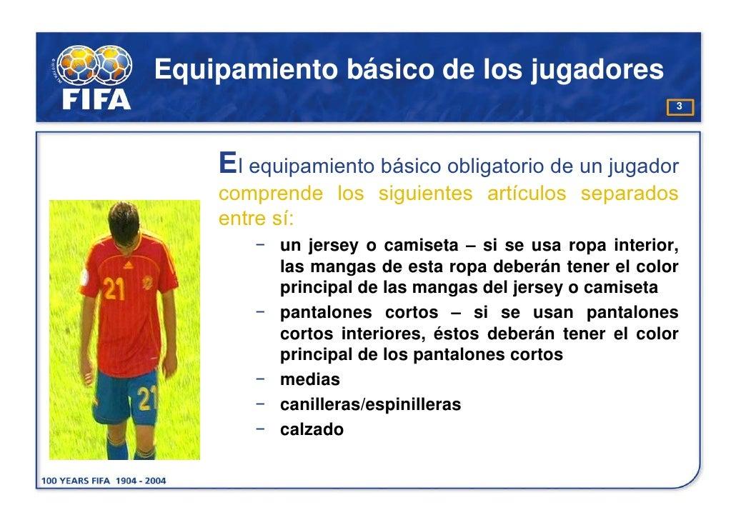 b041c0fa1c014 Equipamiento básico de los jugadores 3 El equipamiento básico ...