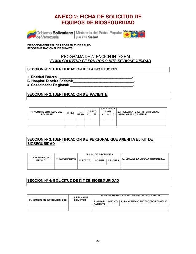 reglamentación técnica sobre procedimientos de bioseguridad para la p…