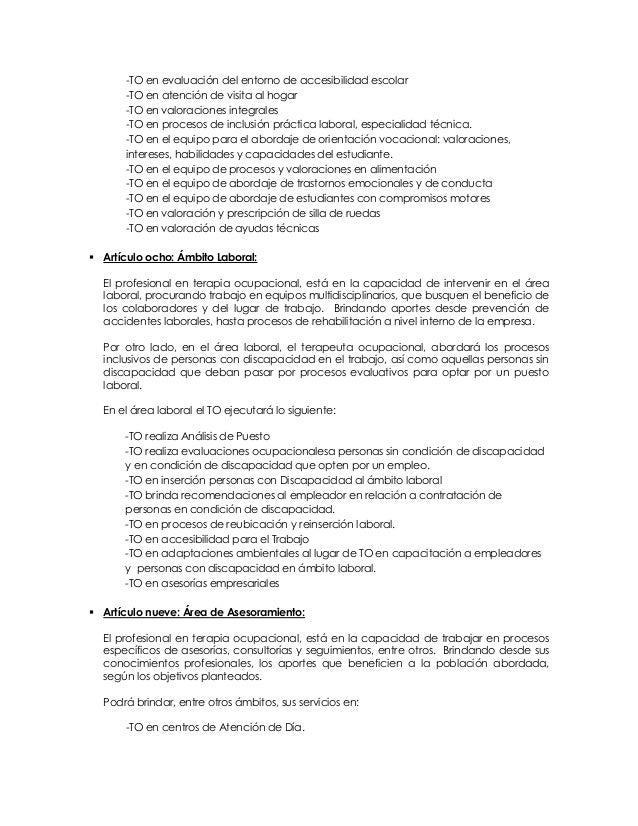 Único Trabajar Como Terapeuta Ocupacional Inspiración - Anatomía de ...