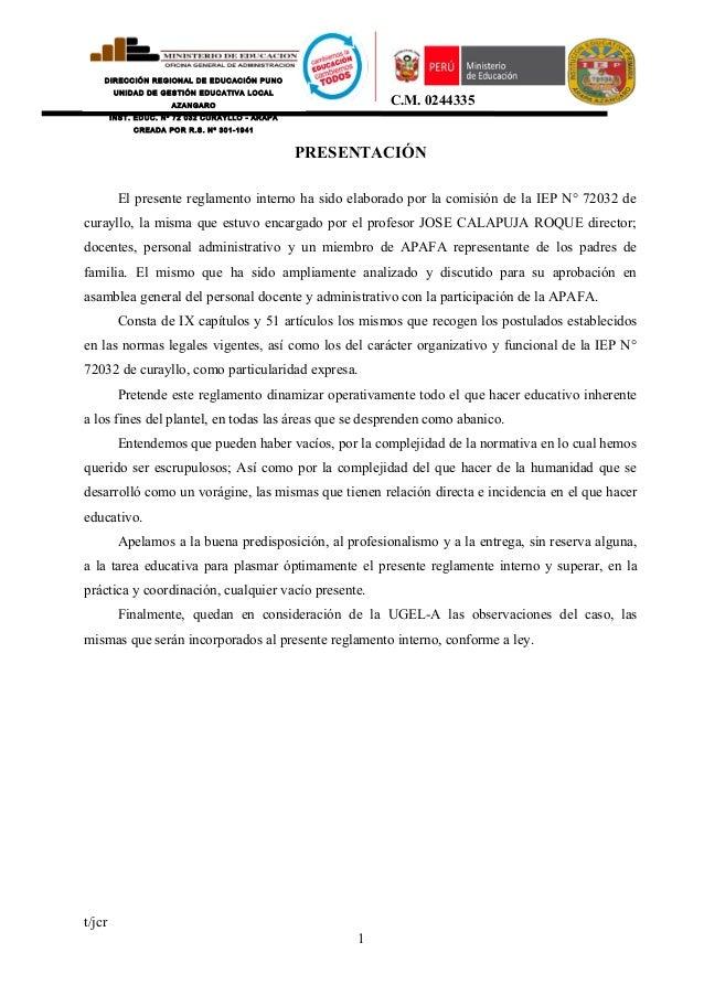DIRECCIÓN REGIONAL DE EDUCACIÓN PUNO UNIDAD DE GESTIÓN EDUCATIVA LOCAL AZANGARO INST. EDUC. Nº 72 032 CURAYLLO - ARAPA CRE...