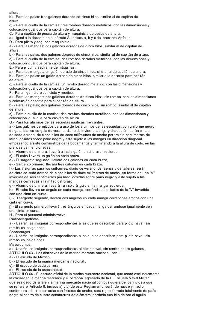 REGLAMENTO DE UNIFORMES MARINA MERCANTE 6702a5d904836