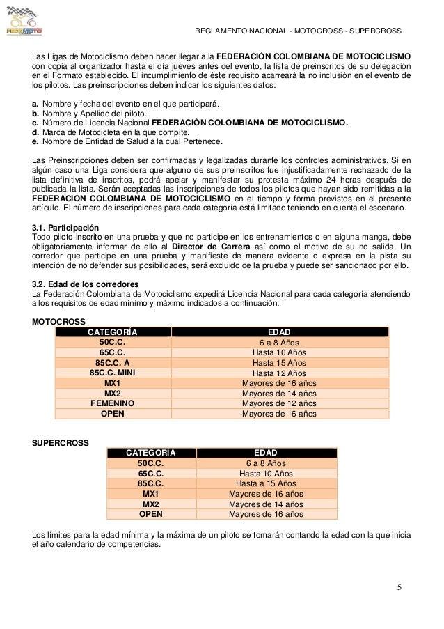 Reglamento nacional-de-motocross-supercross-2014