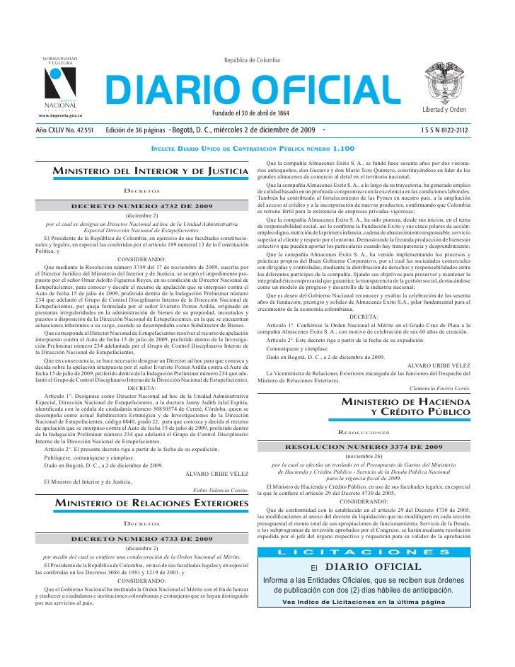 NORMATIVIDAD     Y CULTURA                                                                                  República de C...