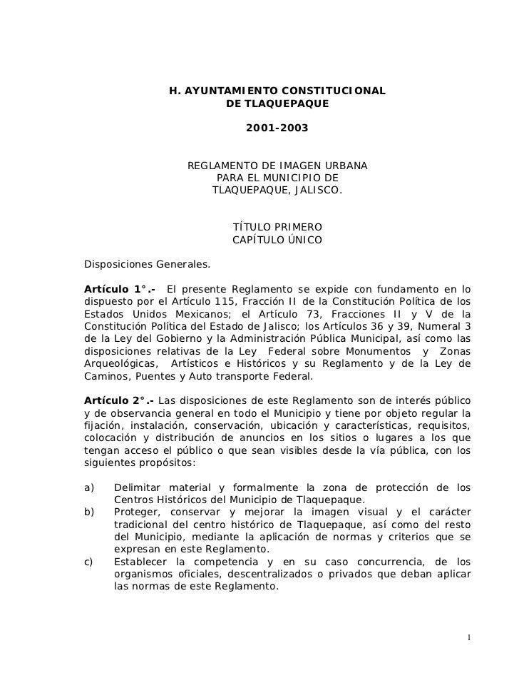 H. AYUNTAMIENTO CONSTITUCIONAL                        DE TLAQUEPAQUE                                2001-2003             ...