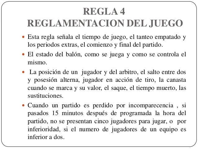 Reglamento del baloncesto for 10 reglas del futbol de salon