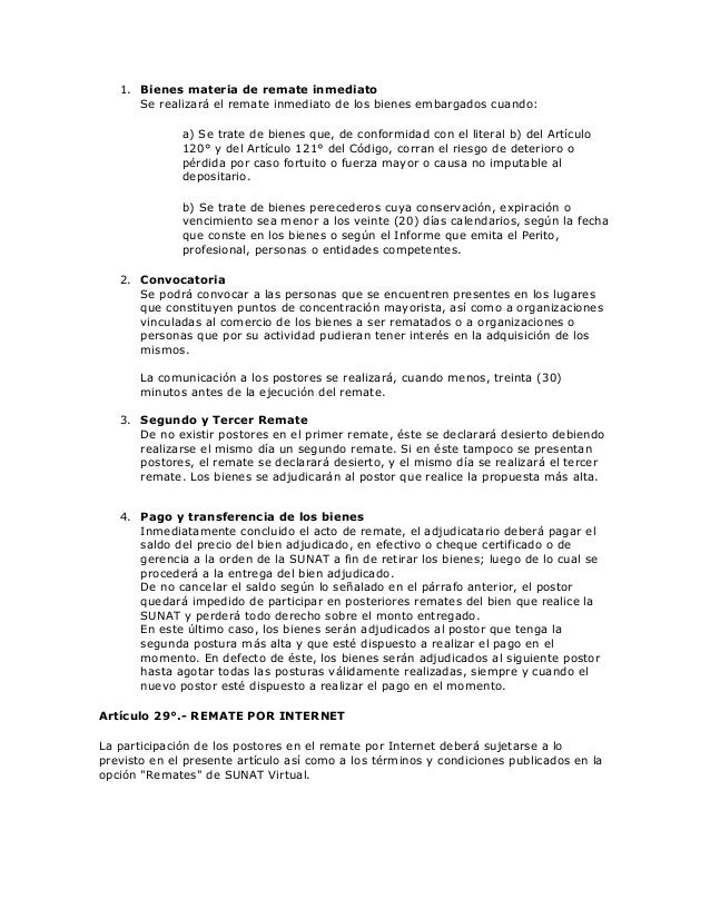 reglamento de cobranzas 89