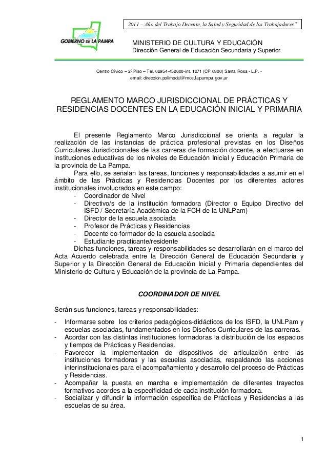 MINISTERIO DE CULTURA Y EDUCACIÓN Dirección General de Educación Secundaria y Superior Centro Cívico – 2º Piso – Tel. 0295...