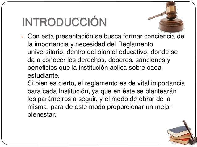 Reglamento estudiantil UPC Slide 2