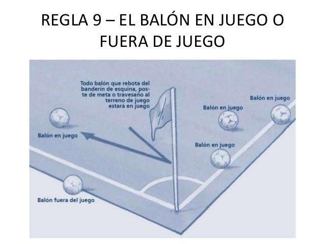 Reglamento futbol for En fuera de juego