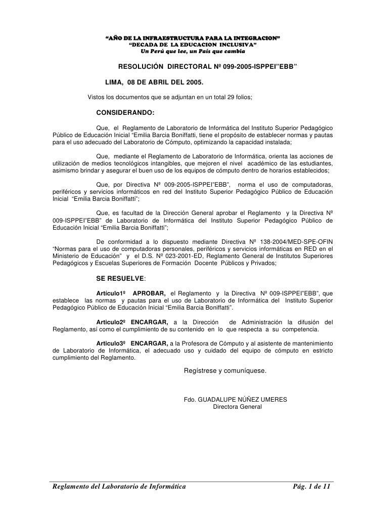 """""""AÑO DE LA INFRAESTRUCTURA PARA LA INTEGRACION""""                          """"DECADA DE LA EDUCACION INCLUSIVA""""               ..."""