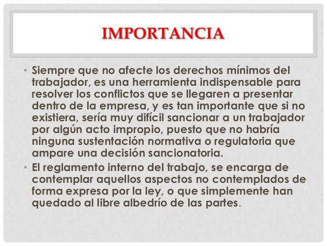 Reglamento interno panam for Porque son importantes los arboles wikipedia