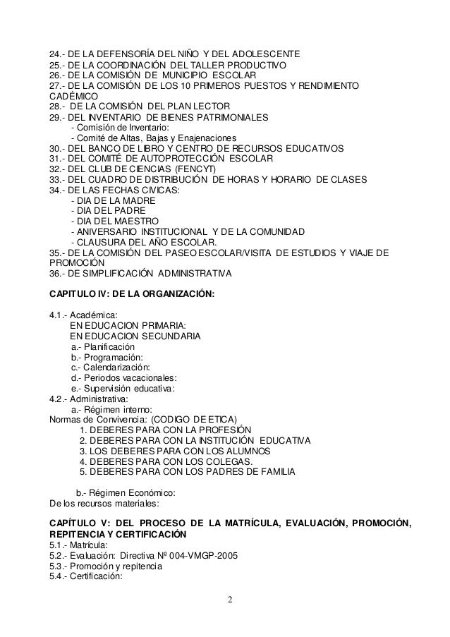 Reglamento interno Slide 3