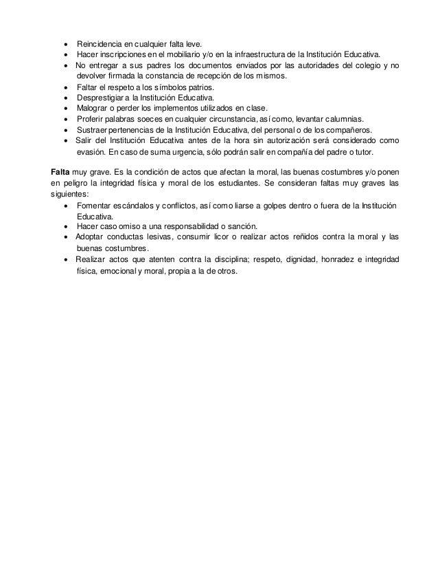 Reglamento interno 1203