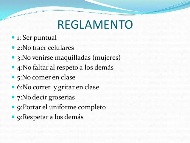 Reglamento escolar for 10 reglas del futbol de salon