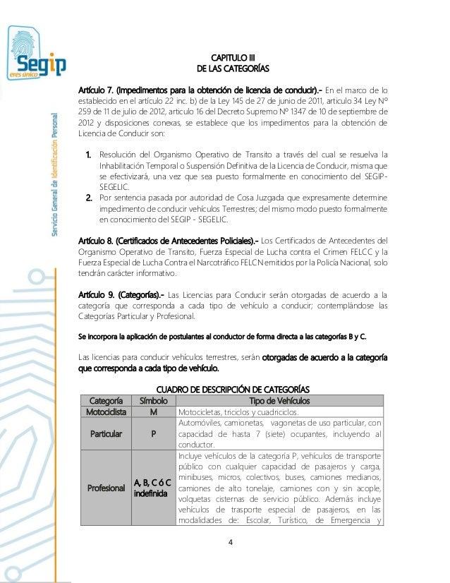 Reglamento tecnico operativo de transito