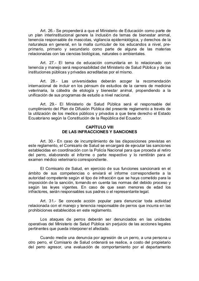 Art. 26.- Se propenderá a que el Ministerio de Educación como parte deun plan interinstitucional genere la inclusión de te...