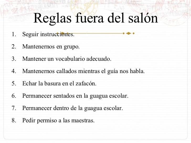 Reglas dentro y fuera del sal n de clase for 5 reglas del futbol de salon