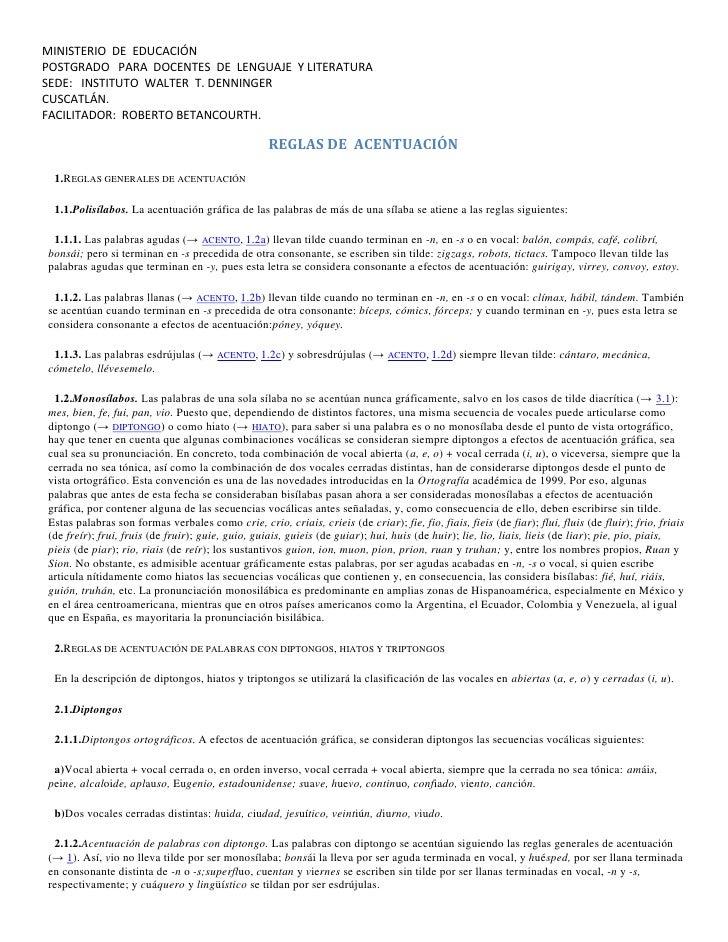 MINISTERIO  DE  EDUCACIÓN<br />POSTGRADO   PARA  DOCENTES  DE  LENGUAJE  Y LITERATURA<br />SEDE:   INSTITUTO  WALTER  T. D...