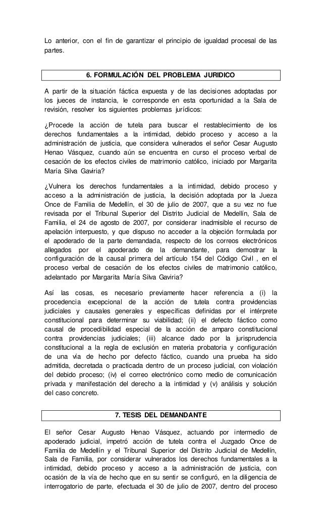 Efectos Del Matrimonio Catolico : Reglas de exclusión la prueba comparitivo sentencias t