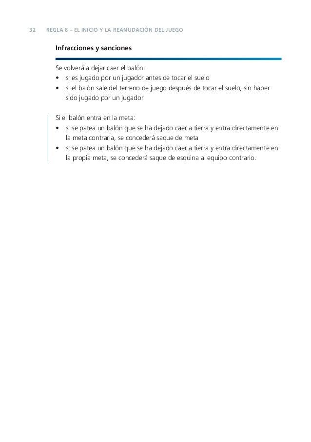 Reglas de futbol 2012 2013 fifa