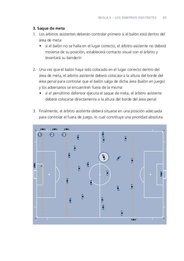 Reglas del f tbol 2012 13 for Regla del fuera de lugar