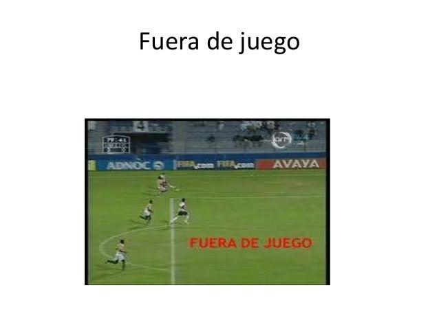 Reglas del futbol alexxxxx for Regla de fuera de juego en futbol