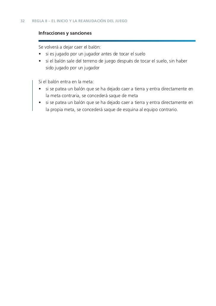 Reglas del juego fifa 2012 13