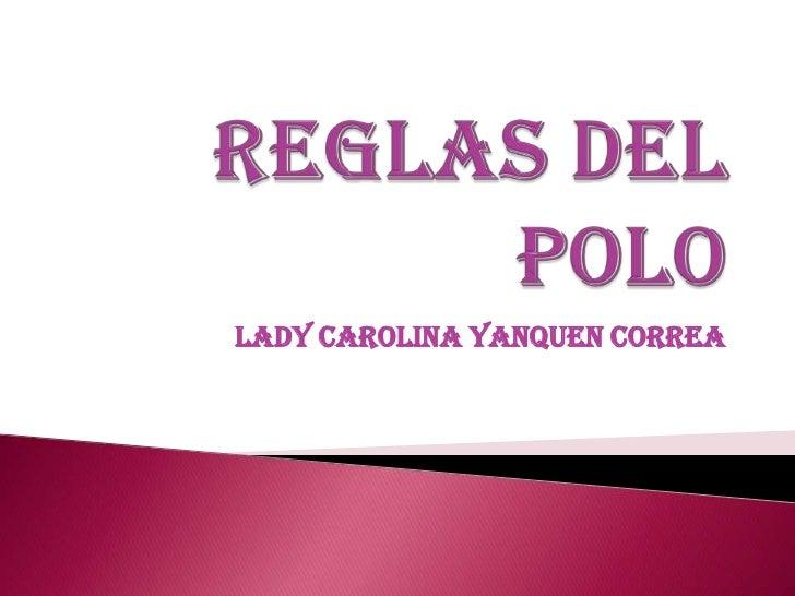 Lady Carolina Yanquen Correa