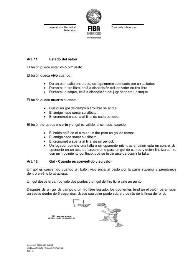 Reglas de mini baloncesto