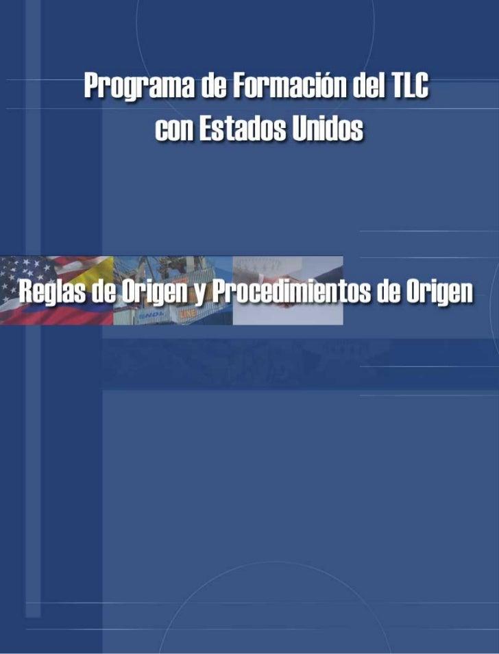 REGLAS DE ORIGEN                                                                                                      Y PR...