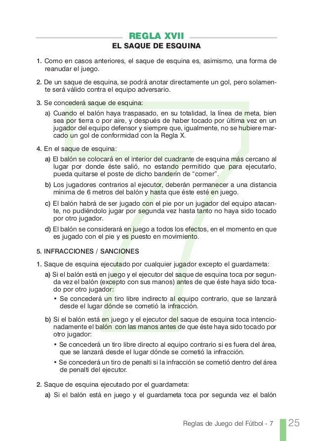 Reglas f7 for Regla del fuera de lugar
