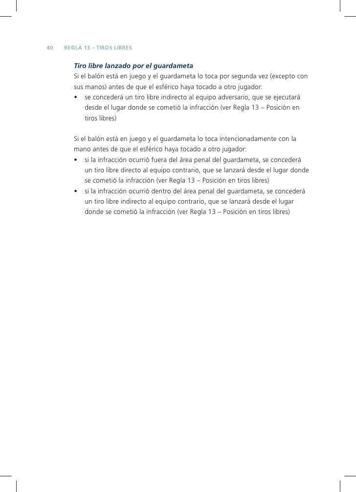 Reglas fifa 2009 2010 for Regla del fuera de lugar