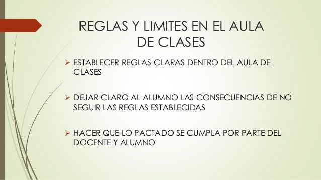 Reglas y limites en el aula de clases for Regla del fuera de lugar