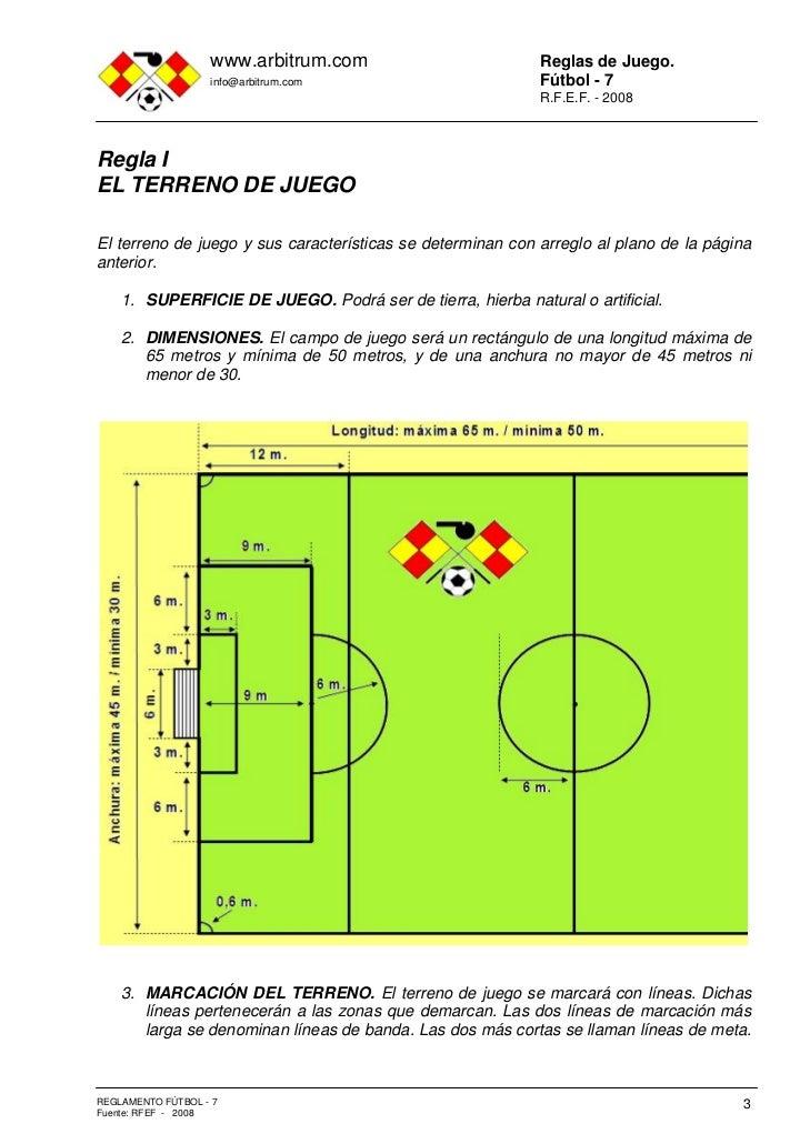 Reglamento f tbol 7 for Regla fuera de juego futbol