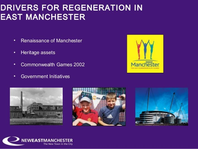 single regeneration budget manchester The single regeneration budget (srb) was introduced in april 1994 it combined twenty previously separate programmes designed to bring about economic, physical and social regeneration in local areas and its main purpose was to act as a catalyst for regeneration in the sense that it would work to attract other resources.
