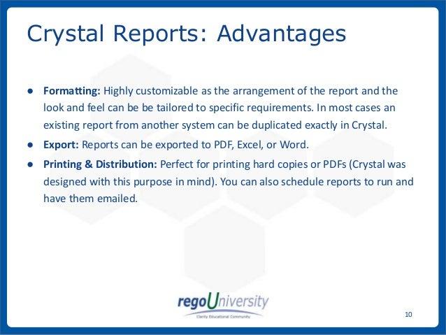 Rego University: Reporting Platforms, CA PPM (CA Clarity PPM)