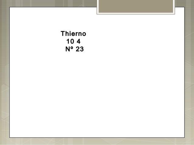 Thierno10 4Nº 23