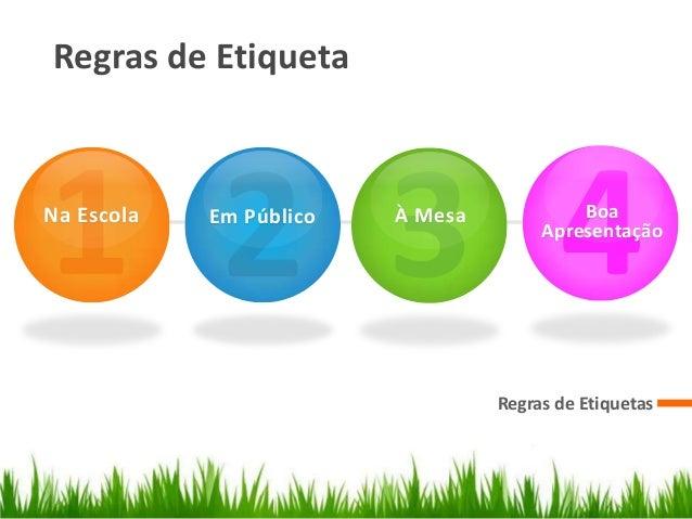 REGRAS DE ETIQUETA EBOOK